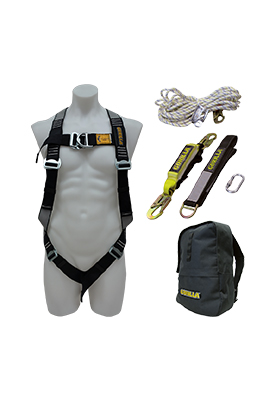 gorilla ladders gorilla roofers safety kit rh www2 gorillaladders com au falltech safety harness kit cheap safety roof harness kits